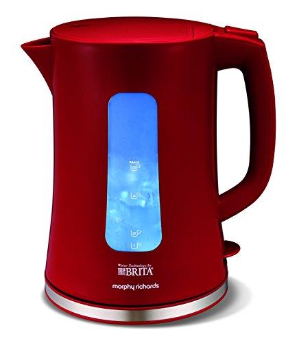 Morphy Richards 120007 Brita-Wasserkocher, Rot