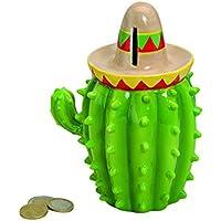 wunderschöne Spardose,Sparbüchse Kaktus mit Hut aus Keramik preisvergleich bei kinderzimmerdekopreise.eu