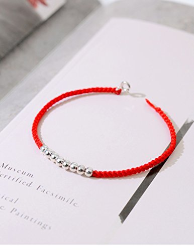 hrcxue die rot Seil Armband Hand Woven von Frauen im transshipment Pearl Minimalist Dekoration -
