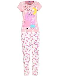 peppa pig ensemble de pyjamas mummy pig femme