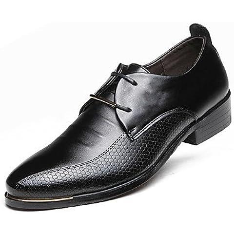2016 nuevos zapatos de hombre /fiesta & Casual / Wedding & /Business Casual zapatos marrón-us8.5-9 / ue41 / Reino Unido /7.5-8 CN42