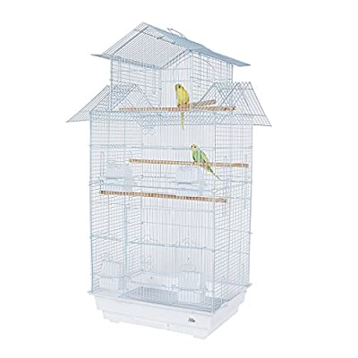 Pet Ting Tulip Large Bird Cage - For Finch Canary Budgie Cockatiel and other similar sized birds () from Pet Ting