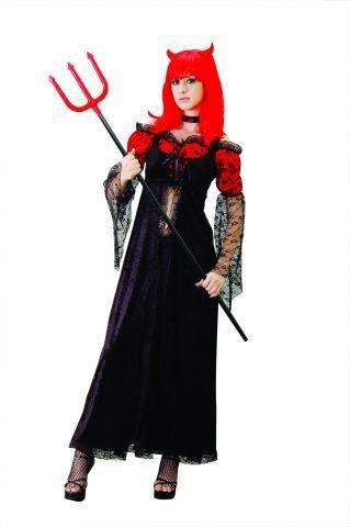 Foxxeo 10236 | Teufelin Kostüm, Größe:XL
