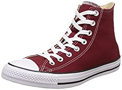 Converse Unisex Red Block Basketball Shoes - 3 UK/India (35 EU)