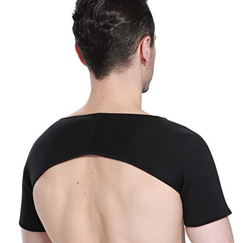 King of Flash Doppelter Schulterschutz Neopren Wrap Unisex Herren Damen Verletzungen Schützen Verstauchungen, auskugelung der Schultergelenke - Therapeutische Brace Support-wrap