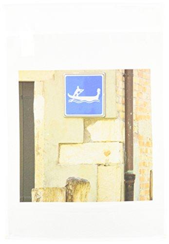 3drose FL _ 82212_ 1Italien, Venedig, Schild Markieren Hut: Gondoliere crossing-eu16teg0220-terry Eggers Garten Flagge, 12von 18 (Crossing Kreativ)