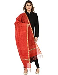 Dupatta Devam Women's Leharia Printed Dupatta ( Casual Dupatta| Dupatta Combo| Hand Block Print Dupatta| Plain... - B072L4LXZR