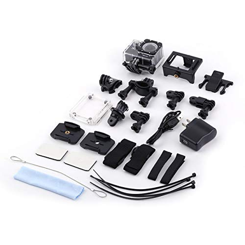 Prima05Sally Professionelle Action Kamera Set EK7000 Ultra HD Wireless wasserdicht 12MP WiFi Sport Action Kamera DV Camcorder -