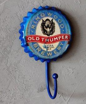 Crochet Mural Vintage Design Decoratif Porte Clés Original Bière bar Brasserie