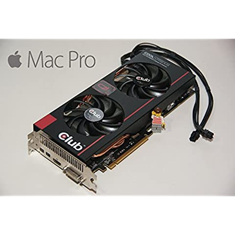 AMD Radeon R9280X 3GB gráficos HD tarjeta de video para Apple Mac Pro 2009–2012