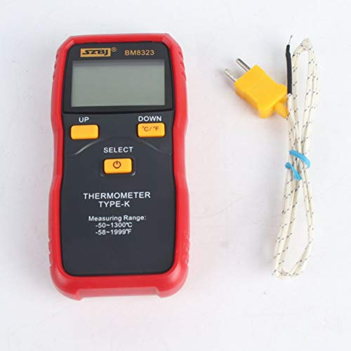 Tree-on-Life BM8323 Digitales Thermoelement-Thermometer -50 bis 1300 ℃ Temperaturmesser Für K-Typ LCD Poratable Tester Measure -