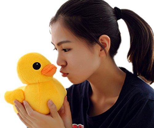 DIS Canard en peluche géant Jaune Canard, jaune, 20 cm