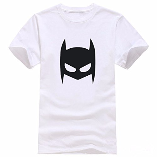 Men's Comic Super Hero Printed Cotton Short Sleeve Tee Shirt 8