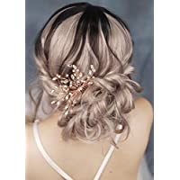 fxmimior novia boda Vintage Flor de cristal cabello peine cabeza desgaste  pelo adornos mujer niña 0c8fd2ebcf72