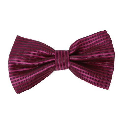 CID-044 Mens Stripes Bowtie More Choice Wedding Pre-tied Bow tie By Dan Smith