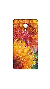 Beautiful Multicolor Floral Pattern Mobile Back Cover/Case For Letv Le1s