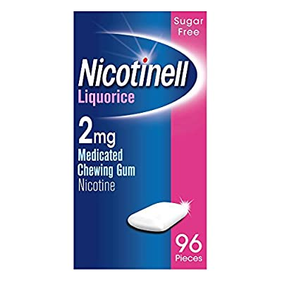 Nicotinell Fruit 2 mg Nicotine Medicated Chewing Gum by Novartis Cons H'Care