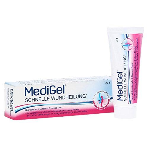 MediGel Schnelle Wundheilung, Spar-Set 2x50g hydroaktives Lipogel. Für alle Wunden im Alltag...