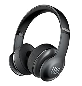 JBL Everest 300 Kabelloser Bluetooth On-Ear Kopfhörer mit Musiksteuerung und Integriertem Mikrofon - Schwarz