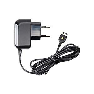 Samsung ATADS30EBE Chargeur d'origine pour Samsung GT-B2100 Solid/GT-B2700 Solid/GT-B3410/GT-B5722/GT-C3050/GT-C3060/GT-C3510 Player Light/GT-C5130/GT-C6625/GT-E10 Noir