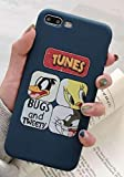 Générique Coque iPhone 7+ Plus et iPhone 8+ Plus Looney Tunes Bip bip Coyote Titi...