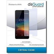 [2 Unidades] Zopo Z5000 Protector de Pantalla disGuard® [Crystal Clear] Cristal, Transparente, Invisible / Anti-Arañazos, Anti-Burbujas, Anti-Huella Dactilar, Protección contra Arañazos / Película Protectora