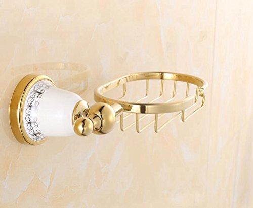 badezimmer-zubehor-keramik-base-gold-bad-seife-net-soap-material-zinklegierung-keramik