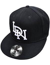 LDN par Endz Noir Londres Casquette de Baseball Réglable (Snapback)