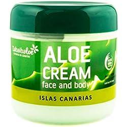 Gesichtscreme und Körper Aloe Vera 300 ml Tabaibaloe