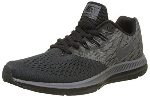 Nike Zoom Winflo 4, Scarpe Running Uomo, Multicolore (Anthracite/Dark Grey/Black 007), 42.5 EU