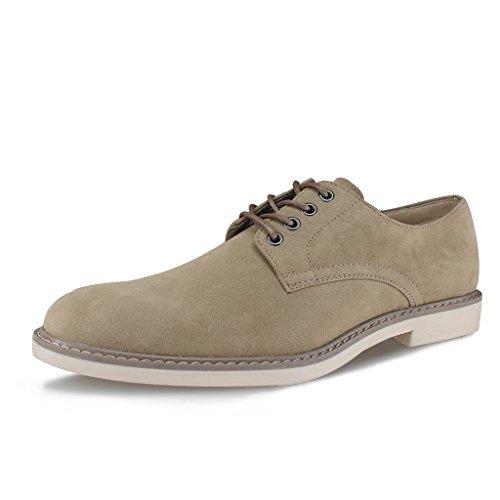 Kick Footwear groundwork - Zapatos de Cordones de Ante Para Hombre, Color, Talla 45 EU