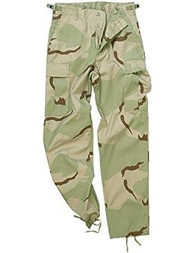 Mil-Tec BDU Ranger Combate Pantalones 3-Colour Desert tamaño M