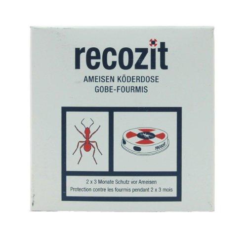 Recozit Ameisen Köderdose, 2er (Lockstoff Tragen)