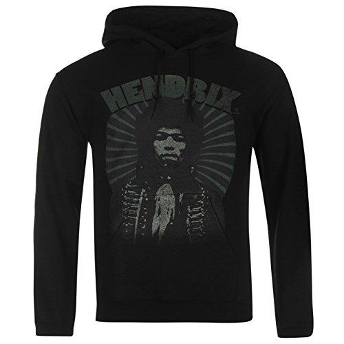 Official Jimi Hendrix Herren Hoodie Kapuzenpullover Kapuze Sweatshirt Pullover Authentic Medium (Hendrix Jimi Hoodies)