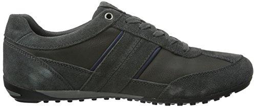 Geox Herren U Wells C Sneakers Grau (DK GREYC9002)