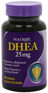 Natrol DHEA 25mg Capsules, 90-Count