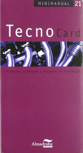 TecnoCard: Fórmulas, conceptos y esquemas de tecnología (Minimanual)