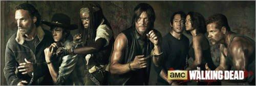 Poster The Walking Dead - preiswertes Plakat, XXL Wandposter