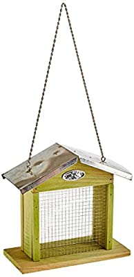 Esschert Design Suet Block House Feeder Galvanized Mesh by Esschert Design USA, LLC