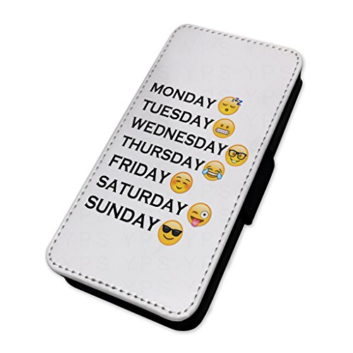 Funny Emoji-Woche Tage–Flip-Telefon Schutzhülle Samsung Galaxy S5 Mini