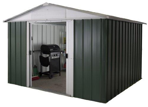 yardmaster-international-1013geyz-10-x-13ft-deluxe-metal-shed-green-silver
