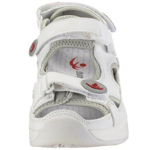 Damen Comfort 9100095 Weiss weiss Shi Aubiorig Sandale Chung Outdoor Sandalen Step TYBUqAwAyx