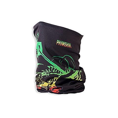 Phunkshun Wear Single Layer Tall Gaiter, Jah Mammoth,