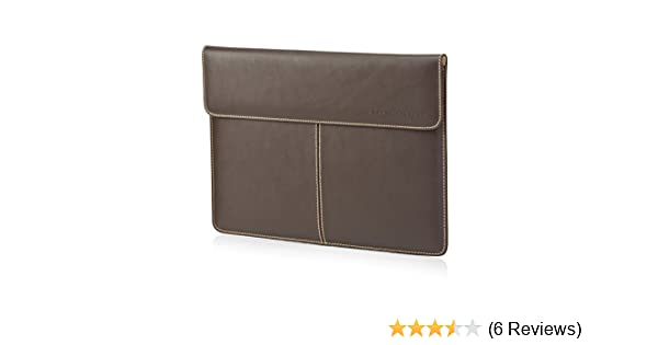 HP 13-inch (33-centimetre) Laptop Leather Sleeve - Brown