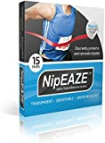 NipEaze - 15pairs - The Original Transparent Nip Protector - Nipple Chafing Prevention - Ultra-Marathon Running Gear