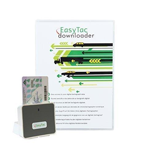 fahrerkarten lesegeraet software EasyTac downloader: multisprachliche PC Software und Fahrerkarten-Lesegerät zum Downloaden, Anzeigen und Drucken von Fahrer- und Fahrzeugdaten.