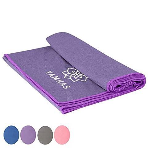serviette yoga - 100% microfibre yoga towel – beaucoup de couleurs – utile pour faire des exercises de pilates, sport towel , beach towel
