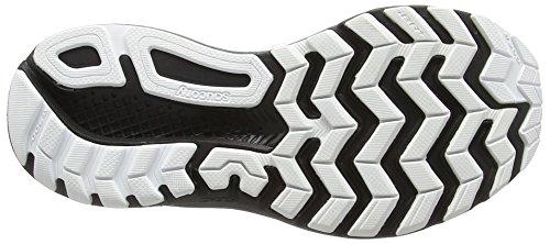 Saucony Damen Ride 9 Reflex Laufschuhe Mehrfarbig (Weiß/Schwarz)