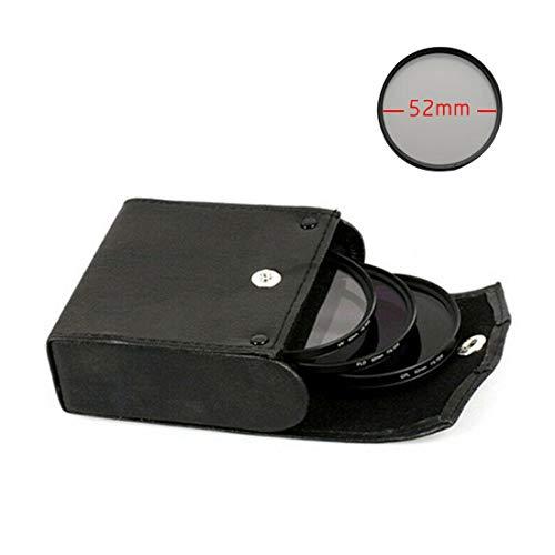 LNIMIKIY Set di filtri da Viaggio per Esterni AntiGraffio Protezione UV CPL FLD Custodia Portatile Accessori fotografici Antipolvere Lenti 3 1 Come