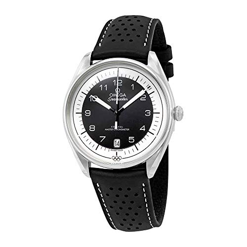 Omega Seamaster Olympic Timekeeper Automatic Black Leather Mens Limited Edition Watch 522.32.40.20.01.003
